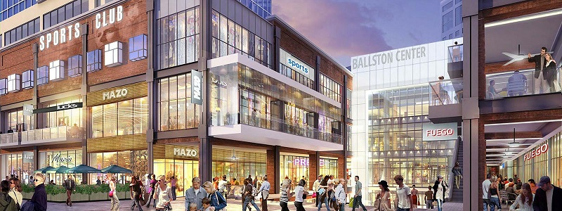 Ballston Quarter Retail: Food Halls Coming to DC Big Ways_Clark Construction