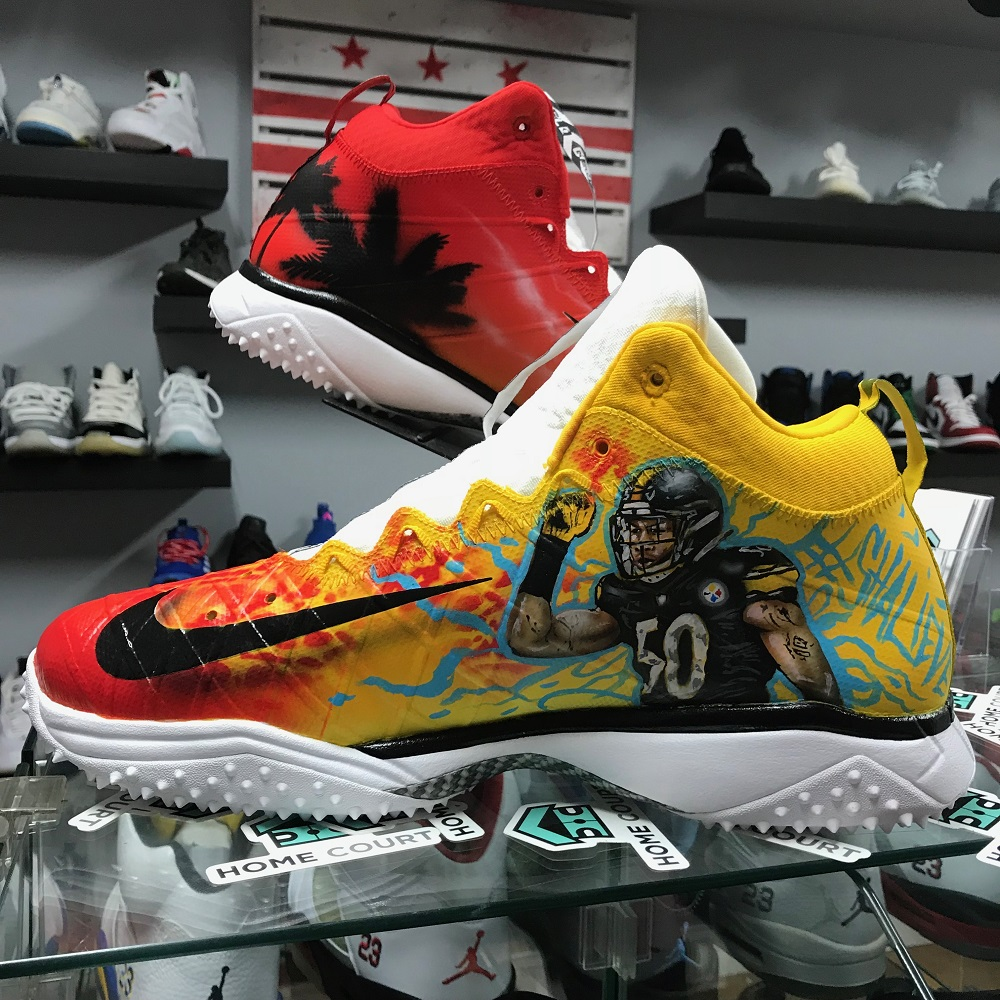 DEZCustomz NFL Shoes: Swizzle Chill Magazine