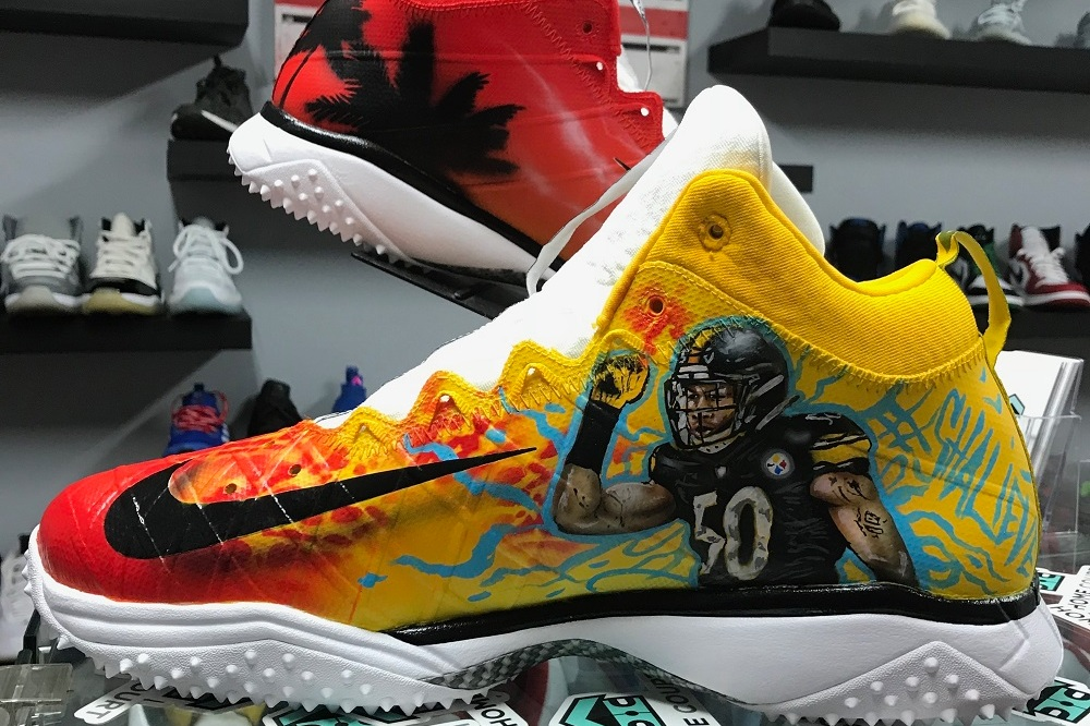 DEZCustomz NFL Shoes: Swizzle Chill Magazine