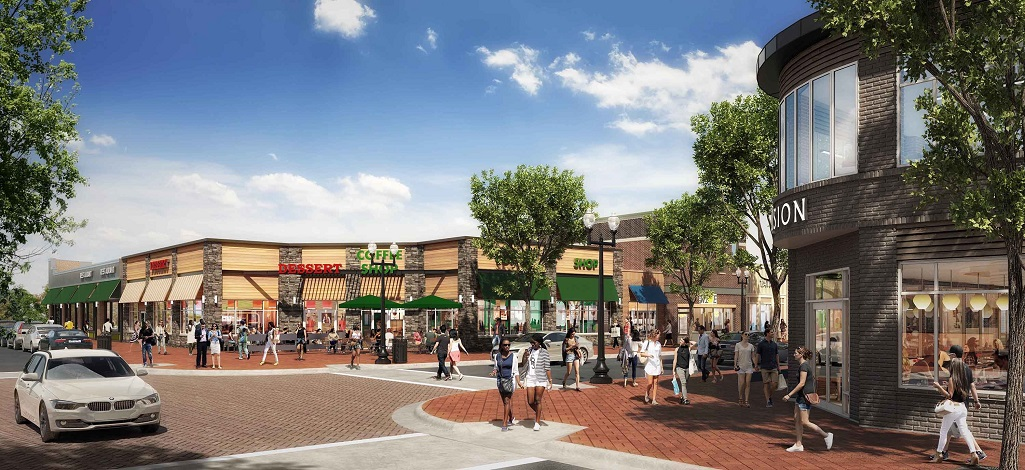 Kimco $22M renovation of Kentlands Market Square in Gaithersburg, MD