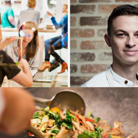 Sasha Felikson has been a mover and shaker in Washington DC culinary circles