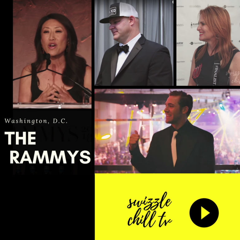 Swizzle Chill TV at the RAMMYS 2018: Swizzle Chill