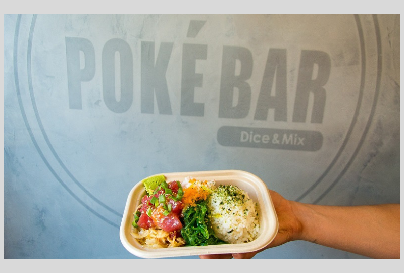 Poke Bar Rosslyn VA: Swizzle Chill