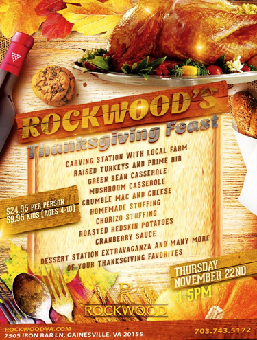 Rockwood Thanksgiving Dinner 2018: Swizzle Chill