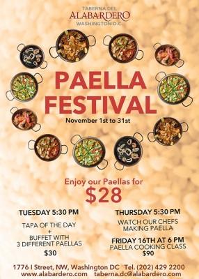 Taberna del Alabardero Paella Festival 2018: Swizzle Chill