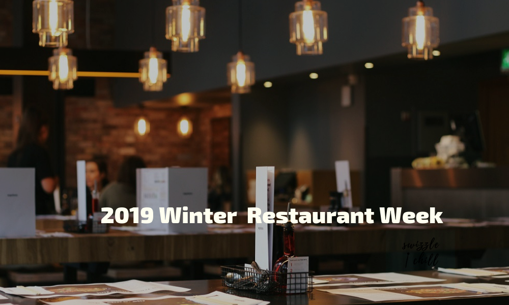 Metropolitan Washington Winter Restaurant Week 2019 offers $22 brunch and lunch, and $35 dinner menus