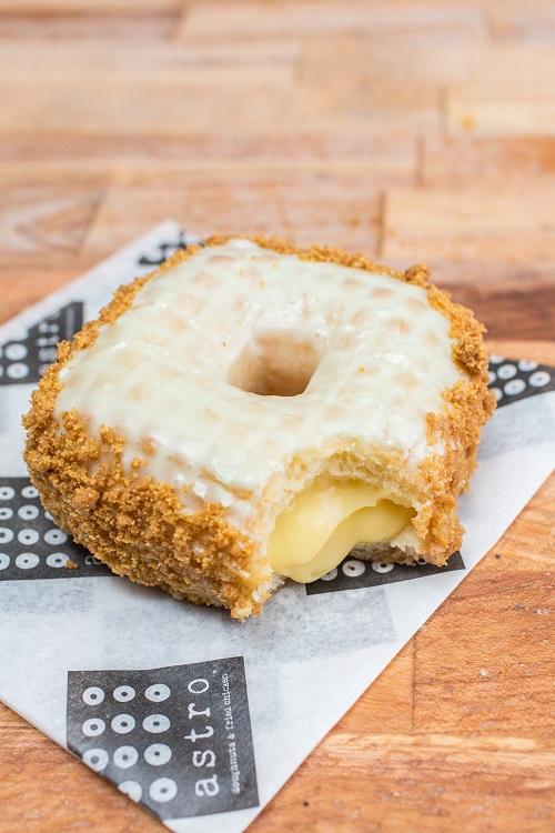 Astro Doughnuts is featuring new January 2019 flavors, including the Key Lime Pie and Tiramisu Pillow Doughnuts