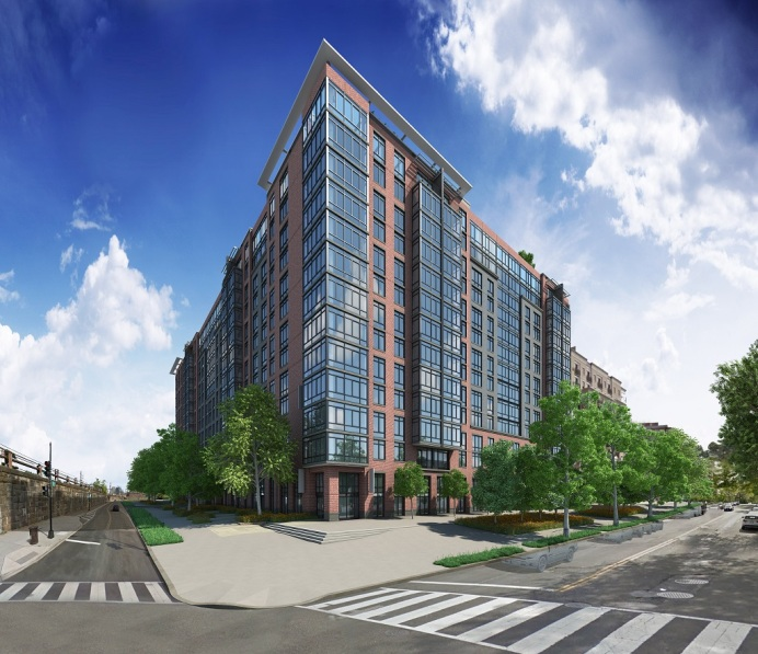 Union Place luxuary apartments, Washington, D.C., , will open in mid-February