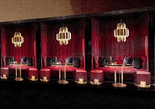 Bombay Velvet will have ample bar, lounge and dining room seating.