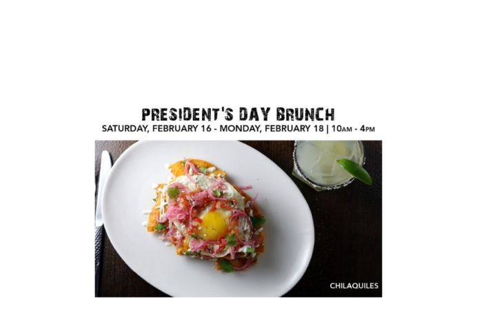 El Centro D.F. offers Presidents' Day Bottomless Brunch