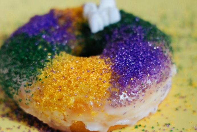 Mardi Gras events in D.C. include Bayout Blowout, Extravaganza DC, Womens Republic Restoratives Dinner, Astro King Cake Doughnut