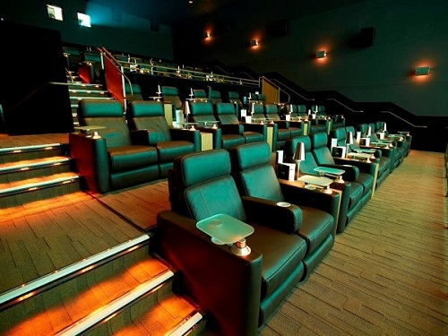 The upcoming Kentlands Market Square Cinépolis will feature fully-reclining, leather seats and waiter service to bring food and drink to its guests.