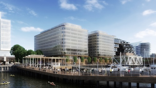 District Wharf Phase Two adds 500,000 square feet of office space in Parcels 6 and 7.
