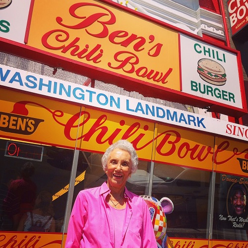 Virginia Ali of Ben's Chili Bowl is the RAMMYS 2019 Duke Zeibert Capital Achievement Award winner.