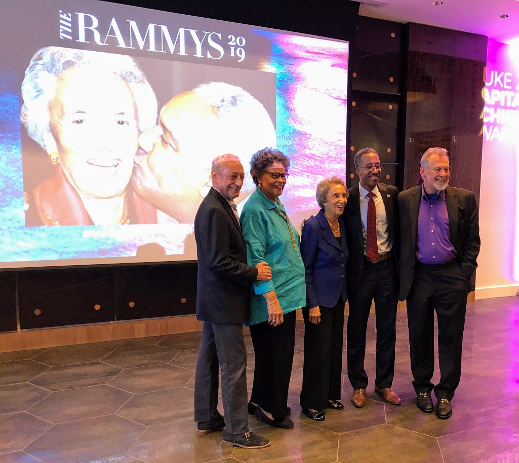 RAMW honors Virginia Ali at Duke Zeibert reception