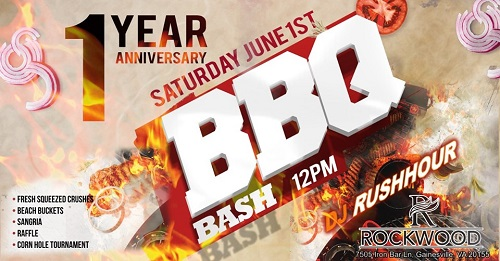 Rockwood will hold a BBQ Bash June 1 to celebrate its one-year anniversary.