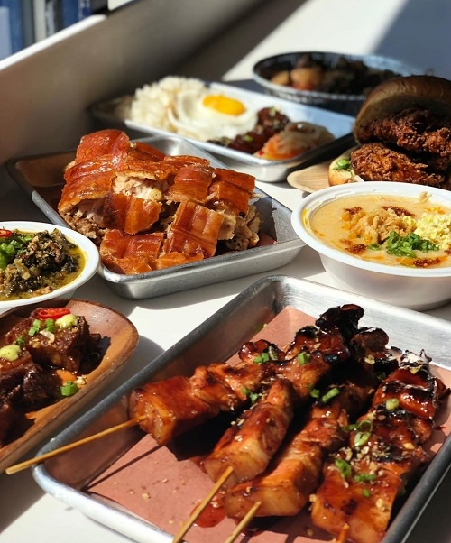 Kuya Ja's Filipino cuisine is resonating with foodies across the region. Photo by Kuya Ja's Lechon Belly.