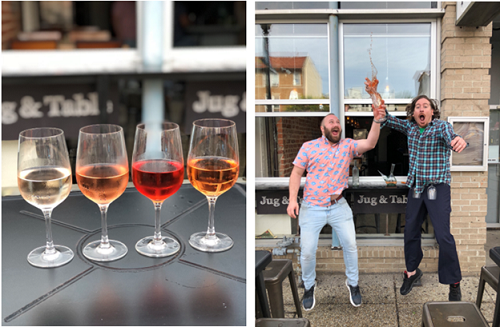 The War of the Rosés event will be held at Roofers Union and Jug and Table on Wednesday, June 12.