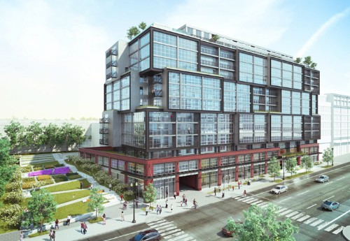 Level 2's Highline brings 318 units and 9.8K square feet of retail to Union Market.
