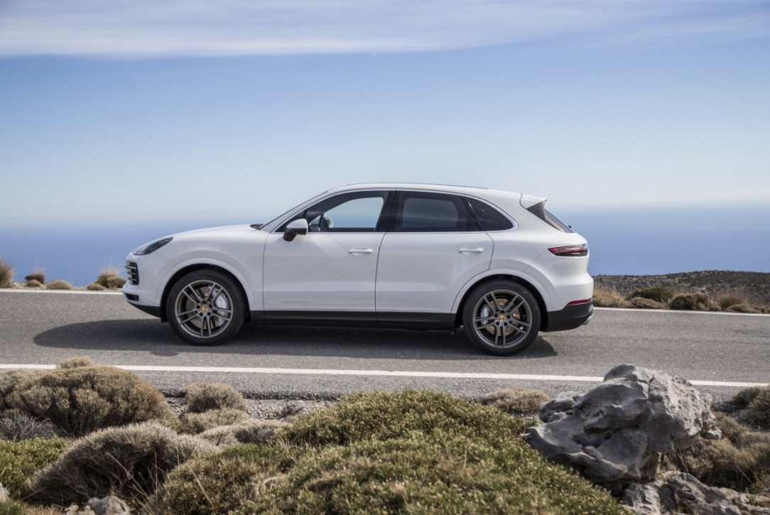 Porsche North America posted record U.S. sales, including Porsche Cayenne