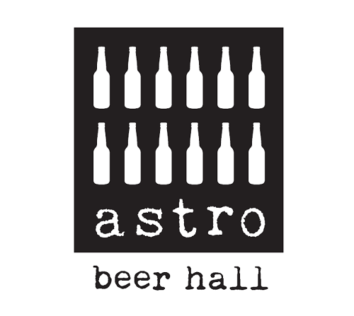 Preliminary logo for Astro Beer Hall. Photo by Astro Doughnuts and Fried Chicken.