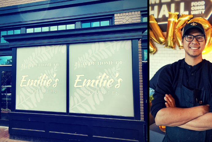 Kevin Tien leaves Himitsu for Emilie's, new Capitol Hill restaurant