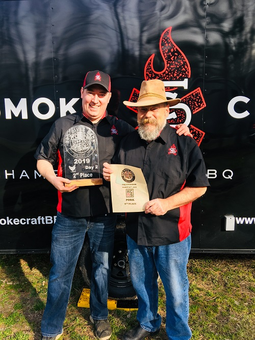 """Andrew Darneille, Smokecraft owner and operating partner, and Pitmaster Mar """"Red"""" Leone  will lead the team."""