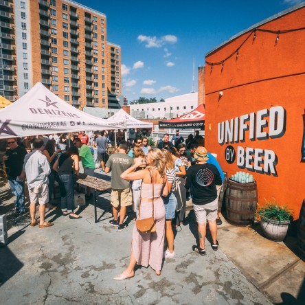 Denizens Brewing hosts 2019 Make It Funky Beer Festival in Silver Spring, Md.