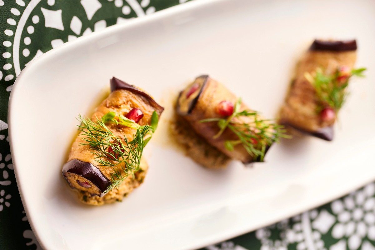 Supra prix fixe menu launched, including Eggplant Nigvzit , khachapuri, dessert, Georgian wine