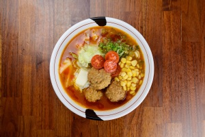 Jinya Ramen Bar releases Spicy Meatball Ramen for a limited time