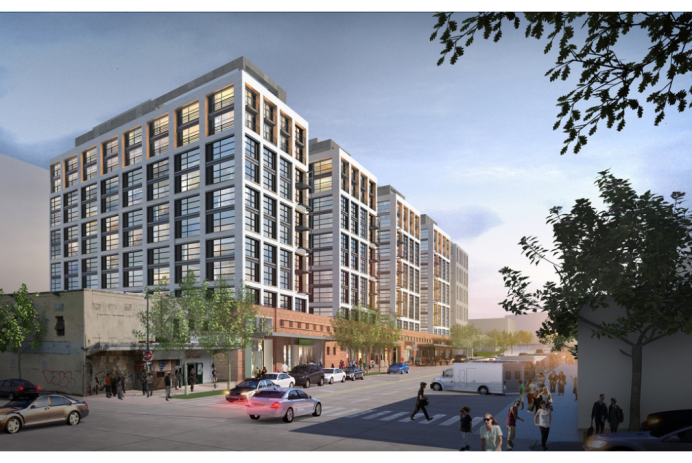 The Batley Apartments in Washington, DC, near Union Market, begin leasing