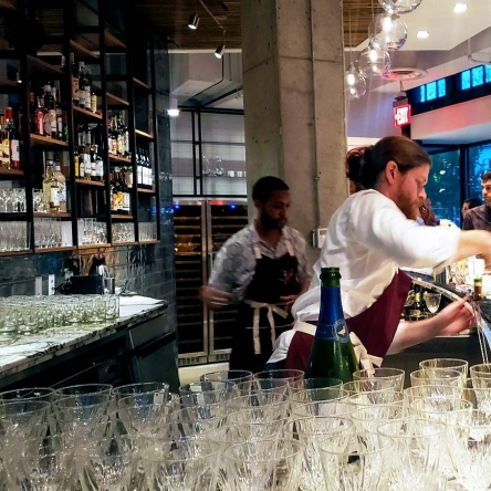 Emilie's from Kevin Tien gives Swizzle Chill an inside look at preview party, and opening October 10.