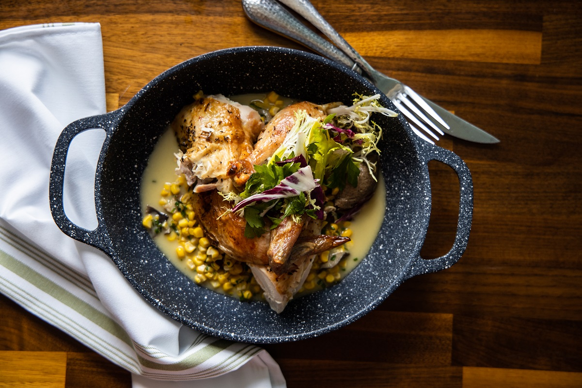 Trummer's re-opens in Clifton, VA as American Bistro with rotisserie, redesigned space