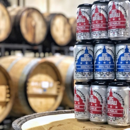 DC Brau hosts Holiday Market 2019
