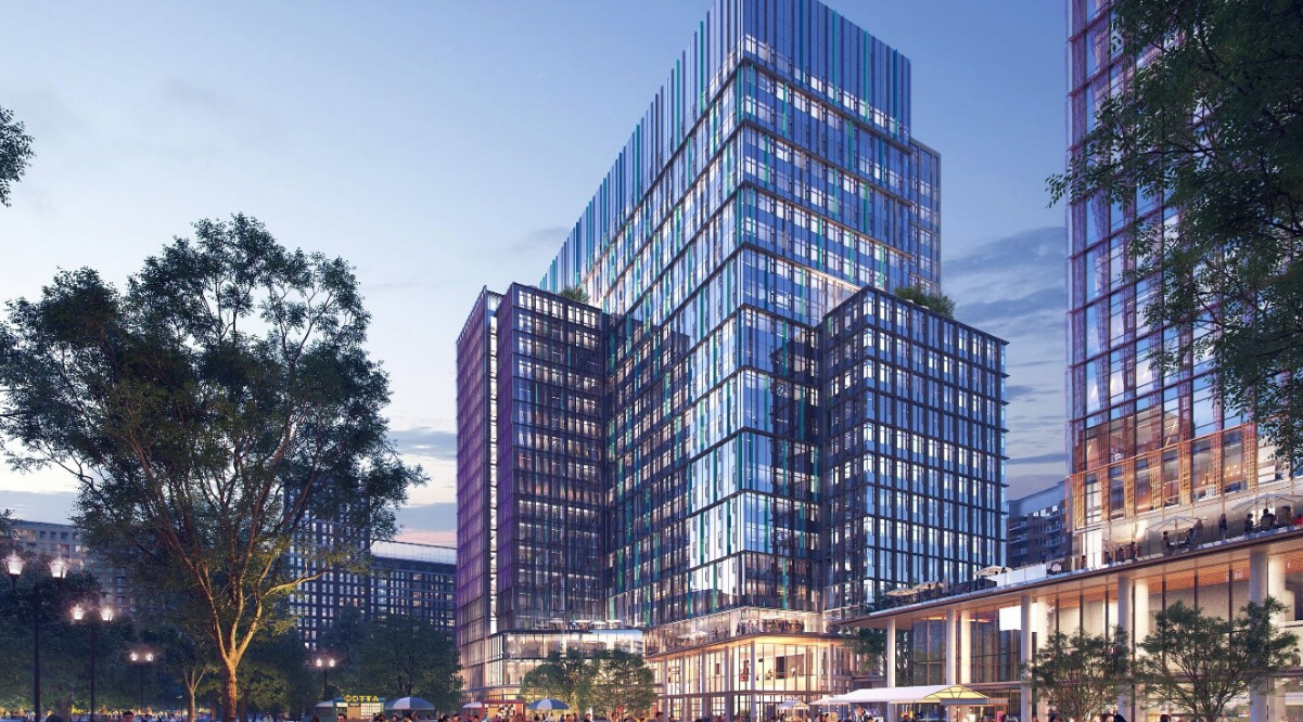 Amazon HQ2 office towers at Metropolitan Park approved by Arlington County Board