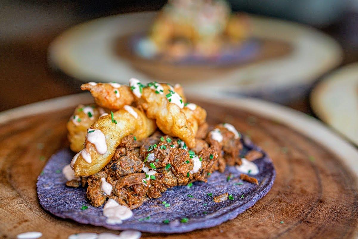Taco Rock's tasty, blue corn tortillas at heart of Mike Cordero concept