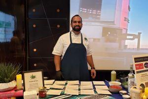 Swizzle Chill TV at ProChile event with Chef Faiz Ally