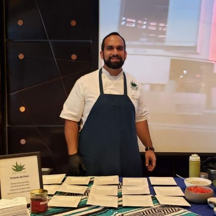Swizzle Chill TV at ProChile event with Chef Faiz Ally
