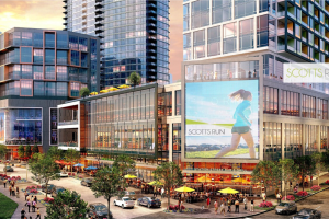 Scotts Run adds residential towers, corporate hotel and entertainment venue in Tysons, VA