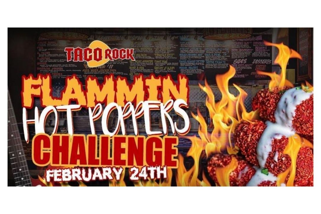 Taco Rock hosts Flammin Hot Poppers Challenge in Rosslyn, VA