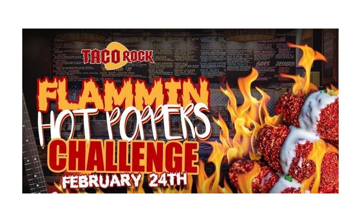 Taco Rock hosts Flammin Hot Poppers Challenge in Rosslyn, VA