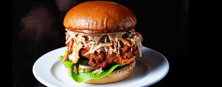 Astro Doughnuts introduces The Asteroid Fried Chicken Sandwich, returns March flavors