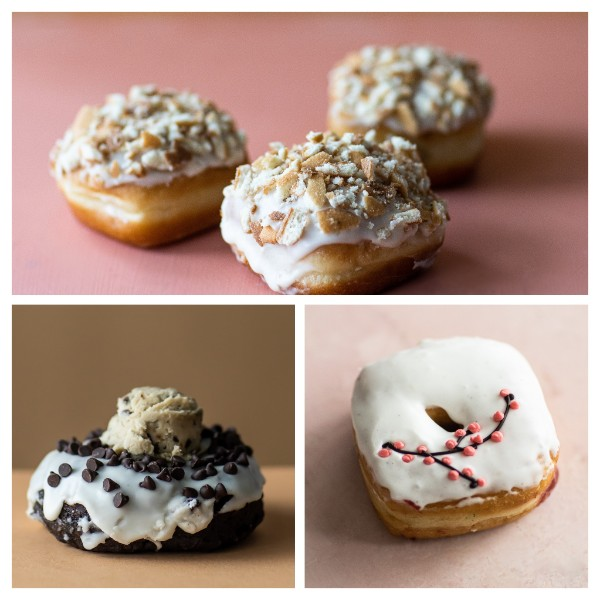 Astro Doughnuts announced its March 2020 flavors, a diverse offering. Photo by Jen Chase.