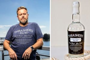 Todd Thrasher of Potomac Distilling Company and Tiki TNT launched a new Coconut Rum. It will debut on Instagram