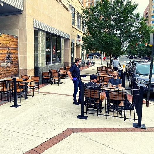 Smokecraft's patio opens daily for diners with a reservation. Smokecraft Modern Barbecue in Arlington unveiled a new patio that's open daily. The 38-seat patio is the latest addition to this new barbecue spot in the heart of Clarendon.