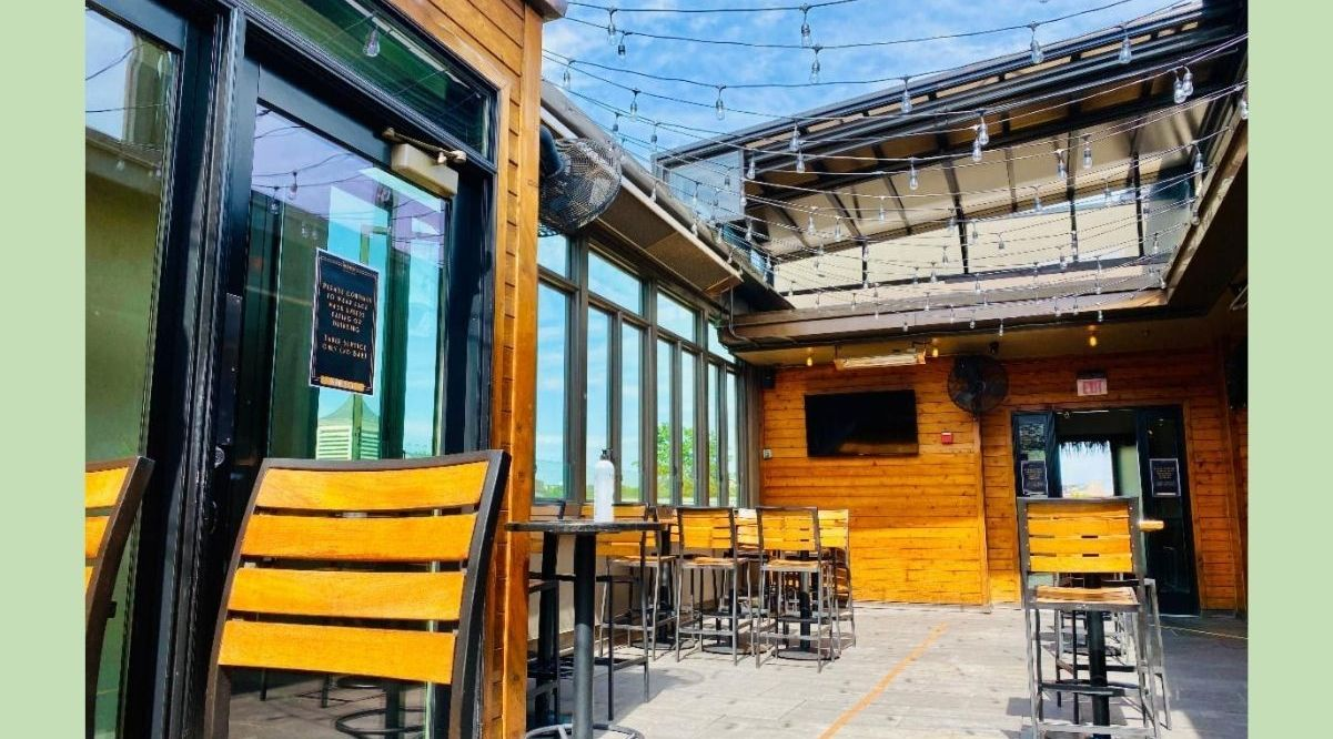 Jack Rose Dining Saloon launched a new brunch, opening up its open air terrace today and Sundays going forward. Chef Russell Jones has been hard at work coming up with new craveable dishes, including the Kentucky Hot Browns.