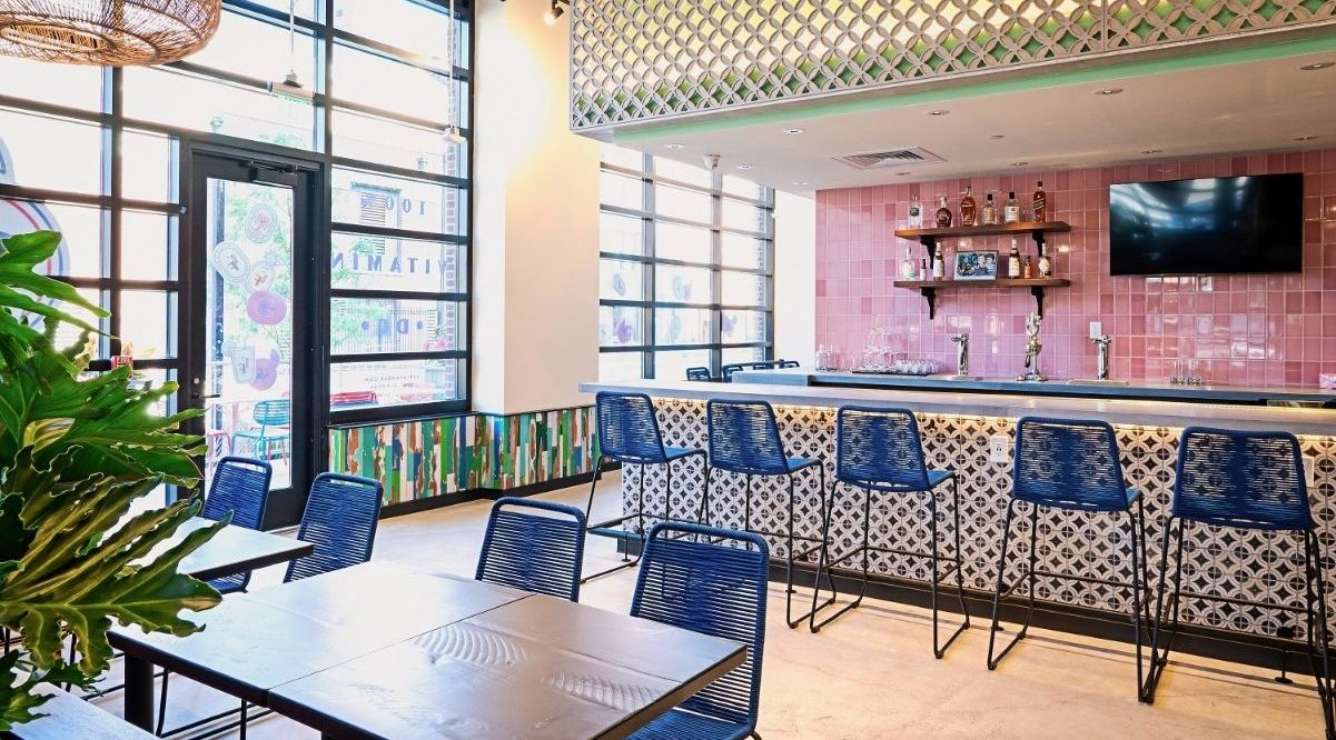 La Famosa Puerto Rican restaurant opened in Navy Yard this week. Owner and chef, Joancarlo Parkhurst is ready to get business going at the new eatery that seeks to bring the flavors of the Caribbean island to the heart of the Riverfront