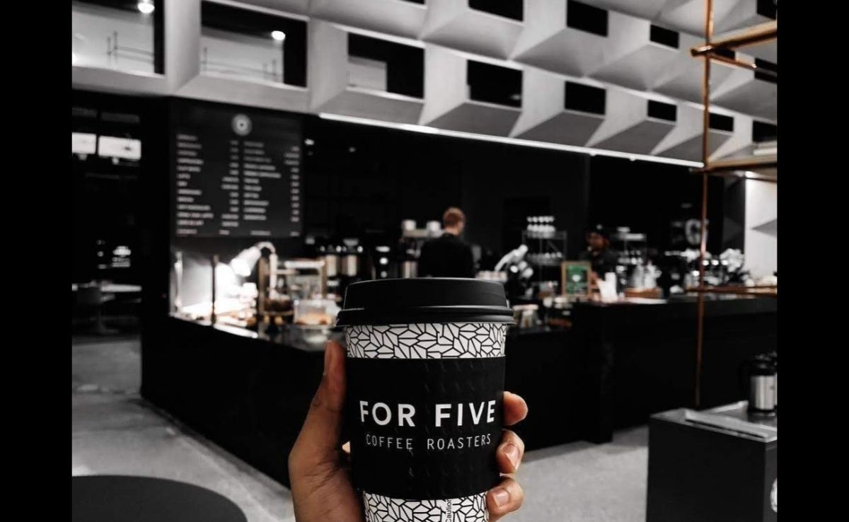 For Five Coffee Roasters marks opening of third Washington-area shop