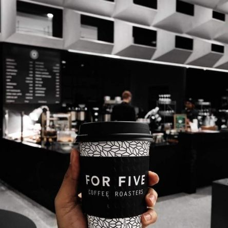 For Five Coffee Roasters marked the official opening of its third store in Metropolitan Washington. The New York City-based coffee chain