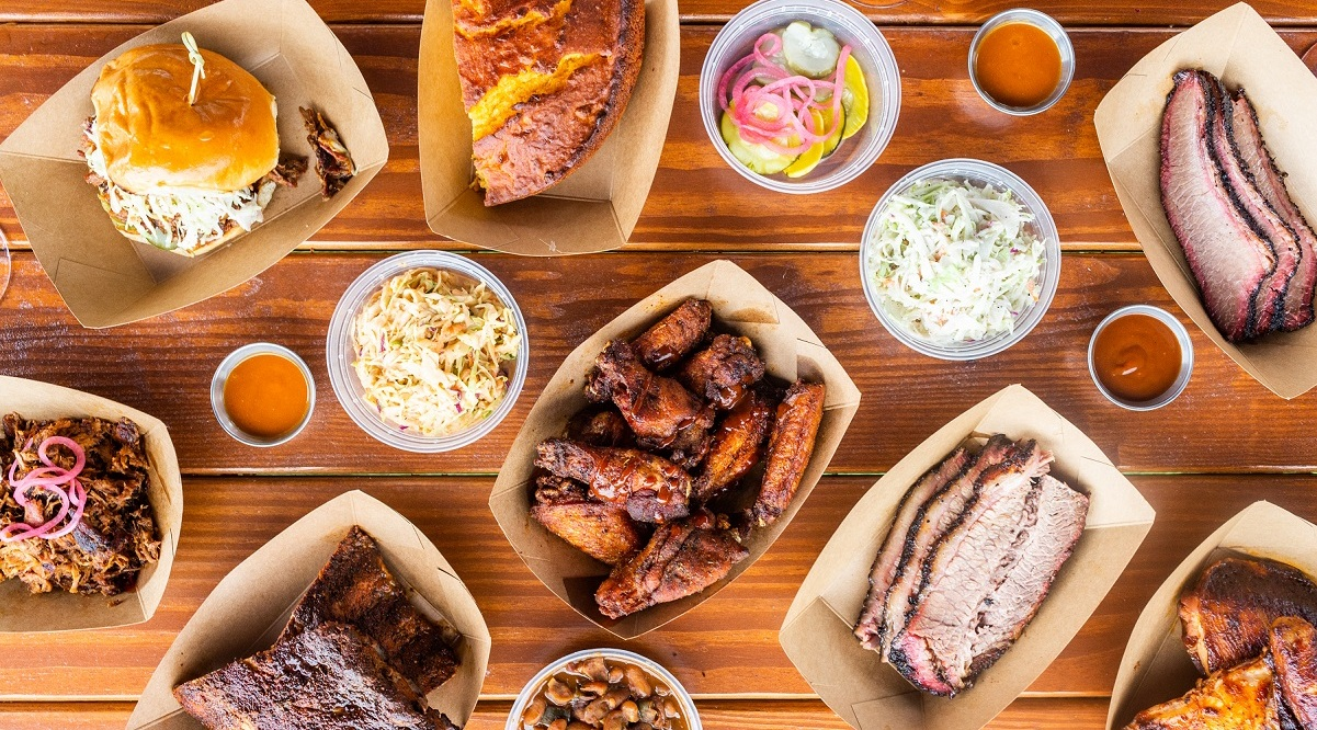 For the historic night, chef Ed Reavis and Jennifer Meltzer—the ownership team—plan a menu for two with Texas Style Brisket, BBQ Chicken and Carolina Pulled Pork